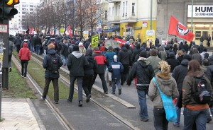 Demonstrationszug