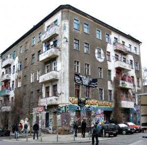Das besetzte Haus Rigaer Straße/Liebigstraße