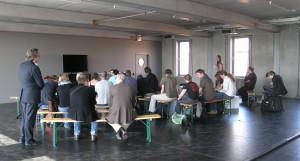 Das Studio C beim PolitCamp